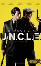 The Man from U.N.C.L.E. - Hungarian Movie Poster (xs thumbnail)