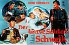 Brave Soldat Schwejk, Der - German Movie Poster (xs thumbnail)