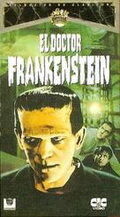 Frankenstein - Spanish VHS cover (xs thumbnail)
