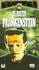 Frankenstein - Spanish VHS movie cover (xs thumbnail)