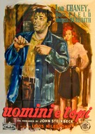 Of Mice and Men - Italian Movie Poster (xs thumbnail)