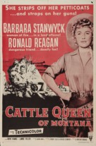 Cattle Queen of Montana - Re-release movie poster (xs thumbnail)