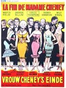 Frau Cheneys Ende - Belgian Movie Poster (xs thumbnail)