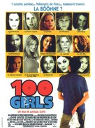 100 Girls - French Movie Poster (xs thumbnail)