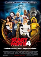 Scary Movie 4 - German Movie Poster (xs thumbnail)