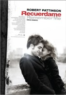 Remember Me - Argentinian Movie Poster (xs thumbnail)