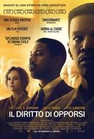 Just Mercy - Italian Movie Poster (xs thumbnail)