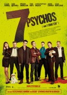 Seven Psychopaths - German Movie Poster (xs thumbnail)
