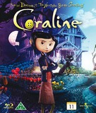 Coraline - Danish Blu-Ray movie cover (xs thumbnail)