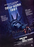 Escape From New York - Dutch Movie Poster (xs thumbnail)