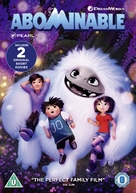 Abominable - British DVD movie cover (xs thumbnail)