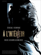 À l'intèrieur - French DVD movie cover (xs thumbnail)