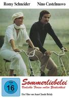 Un amour de pluie - German DVD cover (xs thumbnail)