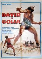 David e Golia - Italian Movie Poster (xs thumbnail)