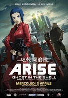 Ghost in the Shell Arise - Border 1: Ghost Pain - Italian Movie Poster (xs thumbnail)