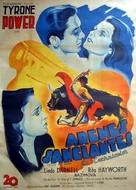 Blood and Sand - French Movie Poster (xs thumbnail)
