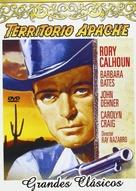Apache Territory - Spanish DVD cover (xs thumbnail)