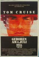 Born on the Fourth of July - German Movie Poster (xs thumbnail)