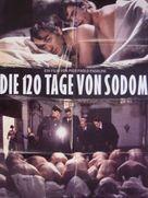 Salò o le 120 giornate di Sodoma - German Theatrical poster (xs thumbnail)