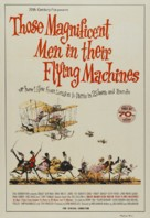 Those Magnificent Men In Their Flying Machines - Australian Movie Poster (xs thumbnail)