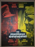 The Best of Enemies - French Movie Poster (xs thumbnail)