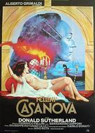 Il Casanova di Federico Fellini - Swedish Movie Poster (xs thumbnail)