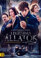 Fantastic Beasts and Where to Find Them - Hungarian Movie Cover (xs thumbnail)