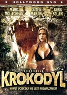 Crocodile - Polish DVD cover (xs thumbnail)