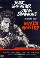 Elmer Gantry - German Movie Poster (xs thumbnail)