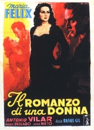 Mujer cualquiera, Una - Italian Movie Poster (xs thumbnail)