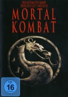 Mortal Kombat - German DVD cover (xs thumbnail)