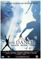 A Time for Dancing - Italian Movie Poster (xs thumbnail)