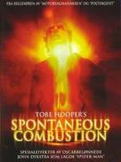 Spontaneous Combustion - Swedish DVD movie cover (xs thumbnail)