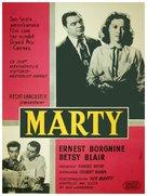 Marty - Danish Movie Poster (xs thumbnail)