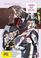 """""""Sword Art Online"""" - Australian DVD movie cover (xs thumbnail)"""