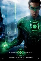Green Lantern - Brazilian Movie Poster (xs thumbnail)