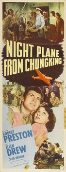 Night Plane from Chungking - Movie Poster (xs thumbnail)