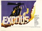 Exodus - British Movie Poster (xs thumbnail)