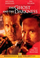 The Ghost And The Darkness - DVD cover (xs thumbnail)