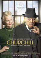 Churchill - German Movie Poster (xs thumbnail)