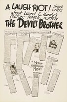 The Devil's Brother - Movie Poster (xs thumbnail)