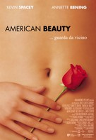 American Beauty - Italian Theatrical movie poster (xs thumbnail)