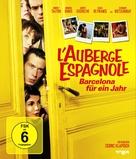L'auberge espagnole - German Blu-Ray movie cover (xs thumbnail)