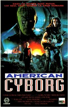 American Cyborg: Steel Warrior - French VHS cover (xs thumbnail)