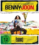 Benny And Joon - German Blu-Ray cover (xs thumbnail)