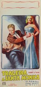 Pitfall - Italian Movie Poster (xs thumbnail)