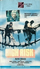 High Risk - Brazilian VHS cover (xs thumbnail)