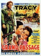 Northwest Passage - Belgian Movie Poster (xs thumbnail)