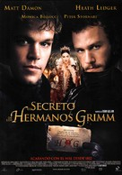 The Brothers Grimm - Spanish Movie Poster (xs thumbnail)