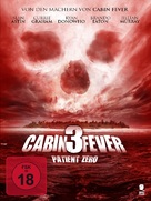 Cabin Fever: Patient Zero - German DVD cover (xs thumbnail)